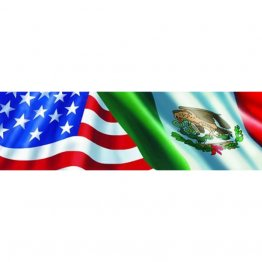 Vantage Point - Ameri-Mexican Flag - Rear Window Graphic