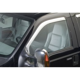 Putco Element Window Visors - Chrome - 480066