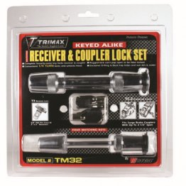 Trimax Hitch Receiver Lock and Coupler